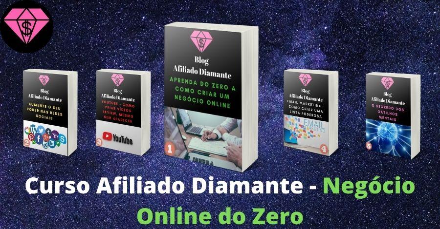 AD Capa Curso - Afiliado Diamante - Negócio Online do Zero